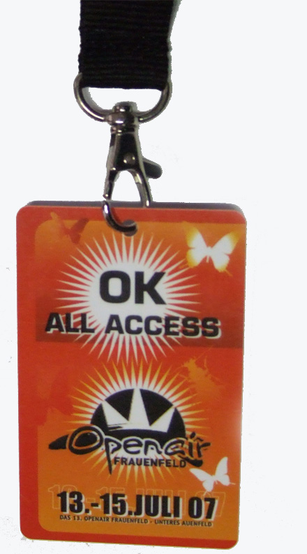 Lanyards VIP Pass VIP Badge